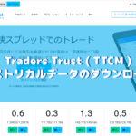 Traders Trust(トレイダーズ・トラスト)のヒストリカルデータのダウンロード方法